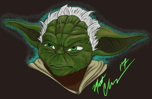 May the 4th be with you Yoda! by RoninH5X