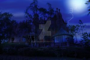 The Haunted Mansion WDW by ARTIST-SRF