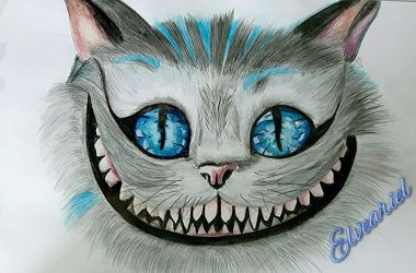 Alice in Wonderland - The Cheshire Cat 2 by Elveariel