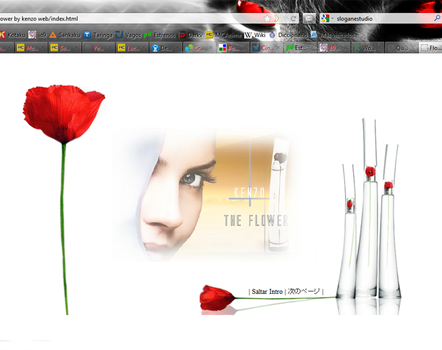 Flower by Kenzo Web Home by PatriciaCG