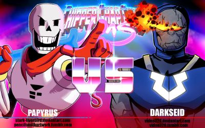 Hero VS Villain: Papayrus N Darkseid by Video320