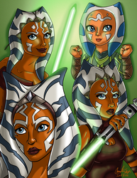 Ahsoka by InkRose98