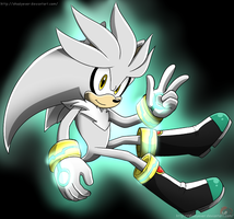 Silver the Hegdehog by shadyever