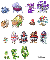 Some sprites by Nyjee