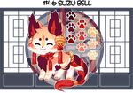 Adoptable Kitsunet Auction (SOLD) by Miizue