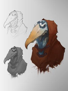 Dungeons and Dragons - Kenku by Rrabbstyjke
