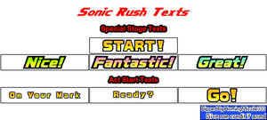 Sonic Rush Text Sprites by HomingMissile333