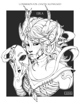 Commission for ChaoticallyWicked - EIRA by giums