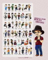 Johnny Depp Roles 1984-2012 by amoykid