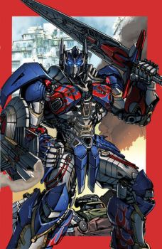 Optimus Prime AOE by Dan-the-artguy