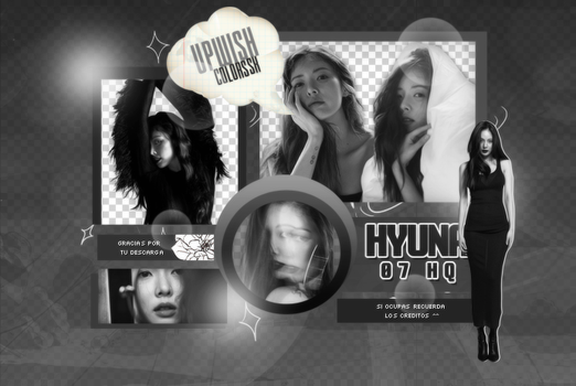 HYUNA PNG PACK #1/ BABE by UpWishColorssx