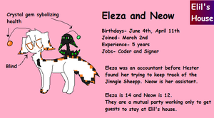 Eleza And Neow by smileydots