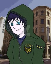 Hoodie Lee by budoxesquire