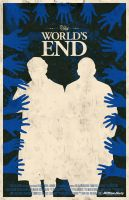 The World's End movie poster by billpyle