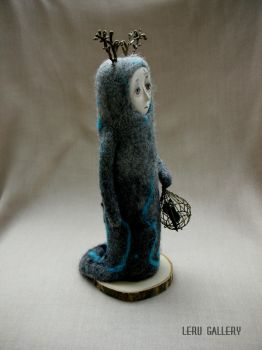 Twilight. Spirit of Mystic Forest. Art doll by LeRuGallery