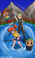 It's fishing time by charlot-sweetie