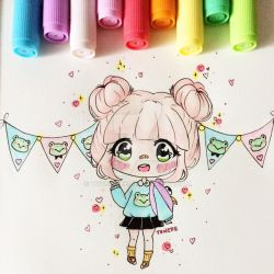 Chibi : Candy by totshieee