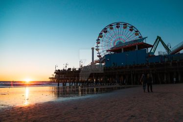 Santa Monica Pier 12/25/15 by Saber-Cow