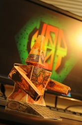 Paper toy | MAD BOT by ChristopherDeer