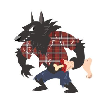 Awesome Werewolf Shirt by hellcorpceo