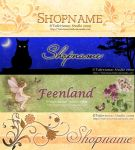 Banners for Shop or Blog by ValerianaSolaris