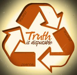 The Truth is Disposable by d1g1talco