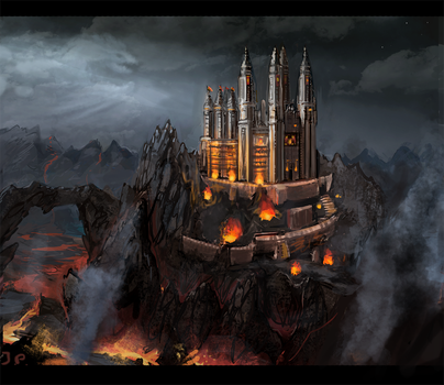 Dragon Guard Fortress Monastary by Minionslayer