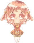 Lily Rose Lop (Adoptable I bought) by DragonEyeMcCree
