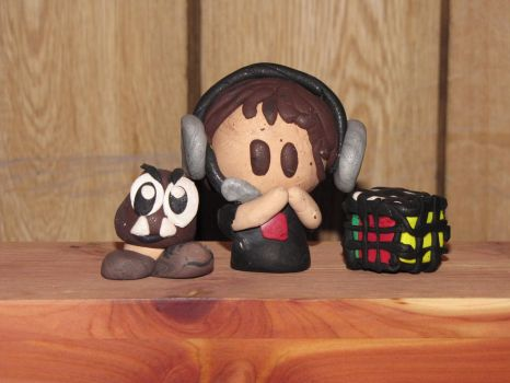 HomelessGoomba Fan-made Clay Figurines! by JordanVenturian