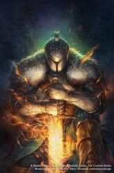 Dark Souls Comic: Issue 2 Cover by Wolfie-chama