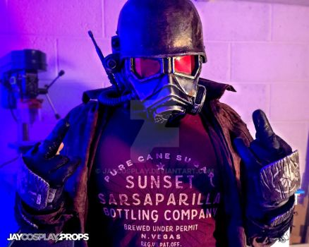 #2 - GameTeeUK NCR Ranger Photoshoot by JayCosplay
