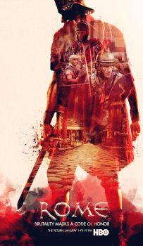 Rome HBO Series fan poster 2 by KokeNunezWorks