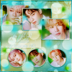 ASTRO - ALL LIGHT (PHOTOPACK) by pandasensualon