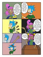 My Life as a blue haired sorceress page 21 by epic-agent-63