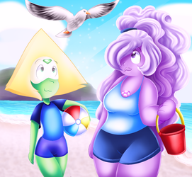 Beach Buddies by ChanceyB