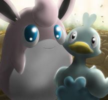 wigglytuff and Ducklett