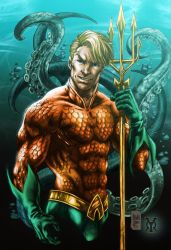 Aquaman by royhobbitz