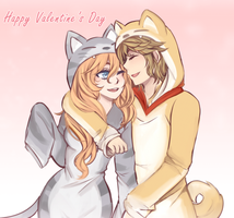 Happy Valentines Day, Zylendia! by Cryptic-Mystic