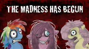 The Madness has Begun by Inkypad