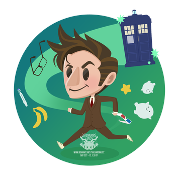 Day 227 - the tenth doctor by salvadorkatz