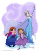 Frozen Princesses by RachelMcCoy