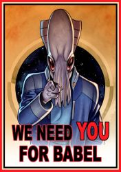 We need YOU for BABEL by JAH42