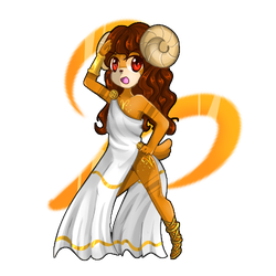 .:Chibi Zodiac Signs Series:. .: Aries :. by xMaggieMags