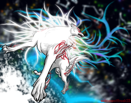 okami shiranui by animeWolffreak23