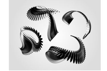 Abstract Spine 3D Render (Free for commercial use) by MadFatSkillz