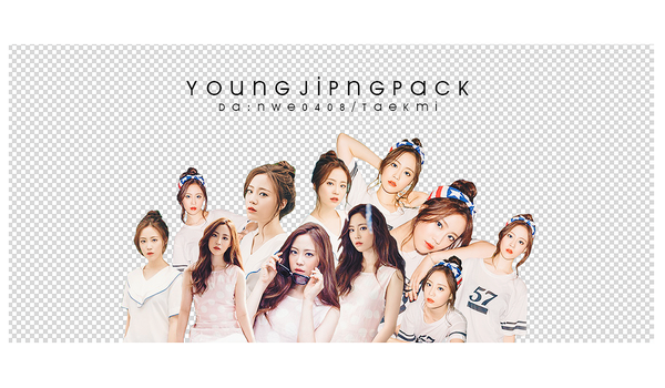 08 / Young Ji PNG PACK 01 by NWE0408