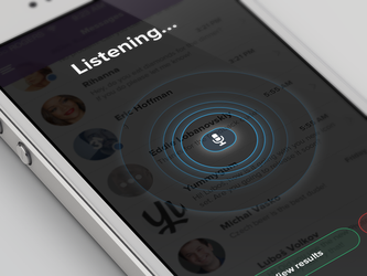 Voice search (iOS7) by OtherPlanet