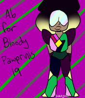 .:A6 for BloodyPawprints19:. by SleepyStaceyArt