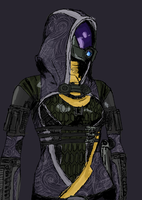 Tali'Zorah vas Normandy by Motenai56