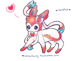 ~Sylveon~ by Salacberry